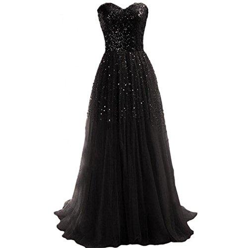 long black evening dress with jacket - 4