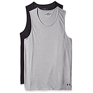 Under Armour Men's Core Tank Undershirt – 2-Pack