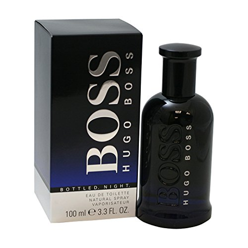 Hugo Boss BOTTLED NIGHT Eau de Toilette, 3.3 Fl Oz