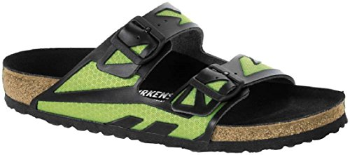 Birkenstock Unisex Arizona MF Regular Fit Rubber ized Green