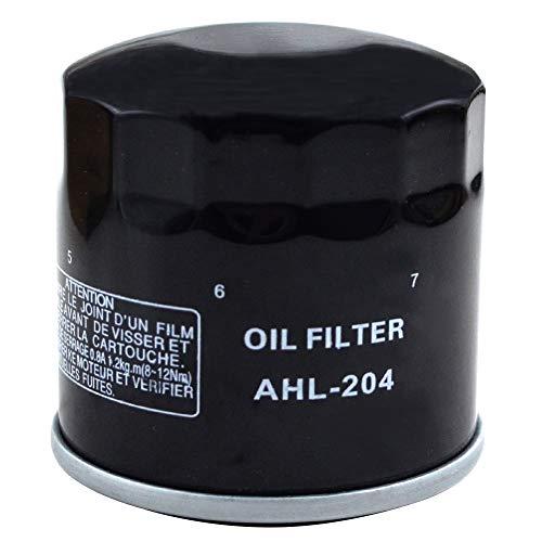 (AHL 204 Oil Filter for KAWASAKI KVF360 PRAIRIE 4X4 HARDWOODS GREEN HD 360 2004-2011 (1 pc))