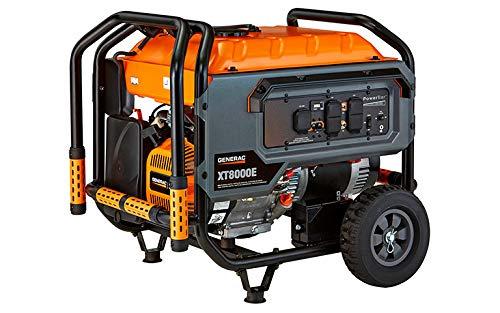 Generac 6434 XT 8000E Watt Portable, 50-State/CARB