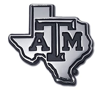 Classic Many Different Colors Available! Texas A/&M University Aggies METAL Auto Emblem