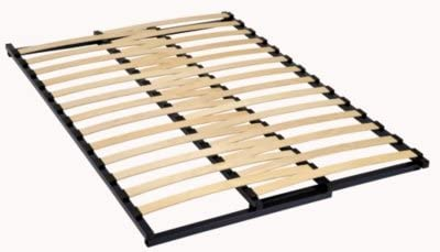 Matelson - Somier con marco extensible, 27 listones de madera, 53 mm