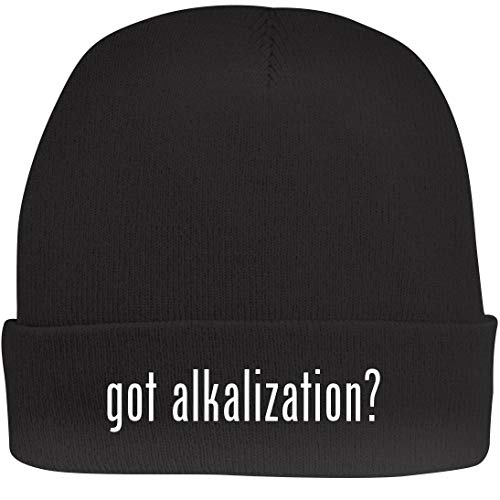 Shirt Me Up got Alkalization? - A Nice Beanie Cap, Black, OSFA