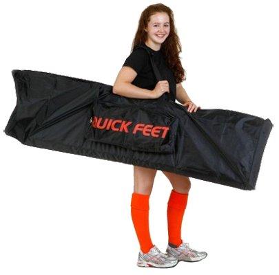 Quick Feet Carry Bag, Black/Orange
