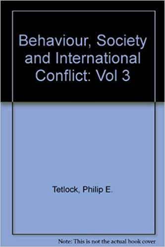 Amazon com: Behavior, Society, and International Conflict