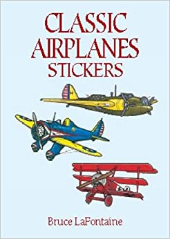 Classic Airplanes Stickers (Dover Stickers)