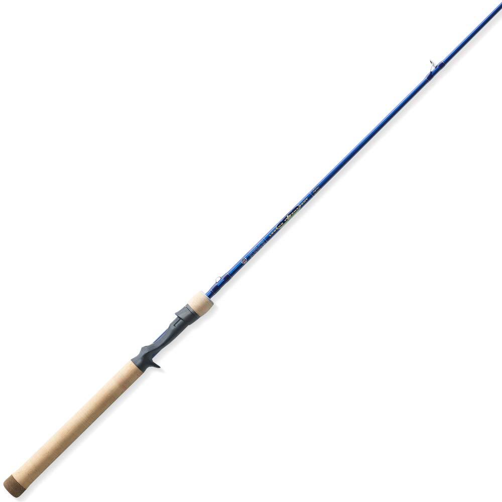 St. Croix Rods Legend Tournament Walleye Casting Rod, Tournament Blue Pearl, 7 Feet (LWC70MHM)