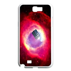 Doctor Who Inspired Tardis Samsung Samsung Galaxy Note 2 N7100 Case Cover AKL231350