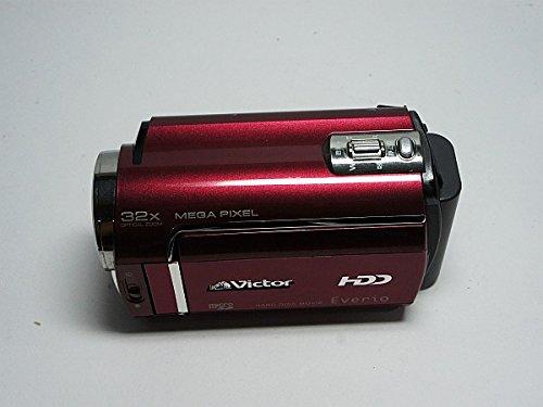 JVCケンウッド ビクター ハードディスクビデオカメラ Everio エブリオ ルージュレッド GZ-MG330-R