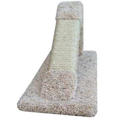 Image of New Cat Condos Premier Tilted Scratching Post, Brown