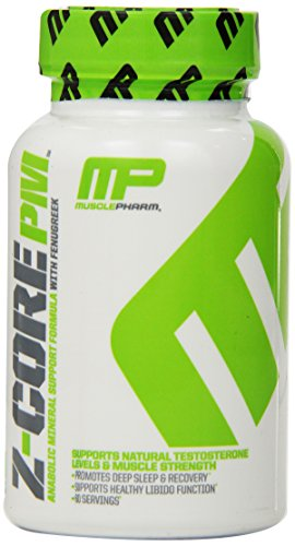 Muscle Pharm Z-Core PM Capsules, 60 Count