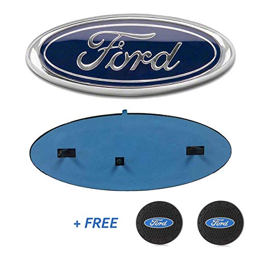 Carstore 2004-2014 Ford F150 Front Grille Tailgate Emblem, Oval 9