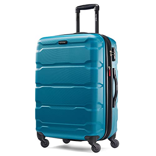 Samsonite Checked-Medium, Caribbean Blue (Best Place To Move In Florida 2015)