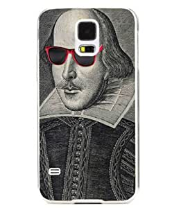 Shakespeare in Sunglasses - Samsung Galaxy S5 Protective Fine Art Case by BrainyCase&8482;