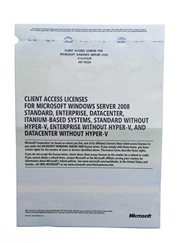 Windows Server 2008 RDS TS Remote Desktop Services: 25 CALS-licenties voor gebruikers / apparaten – Terminal Services…