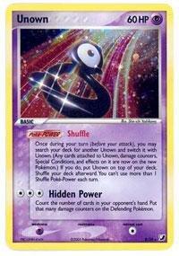 Pokemon - Unown B (119) - EX Unseen Forces