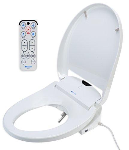 Brondell Swash 1000 White Bidet Toilet Seat