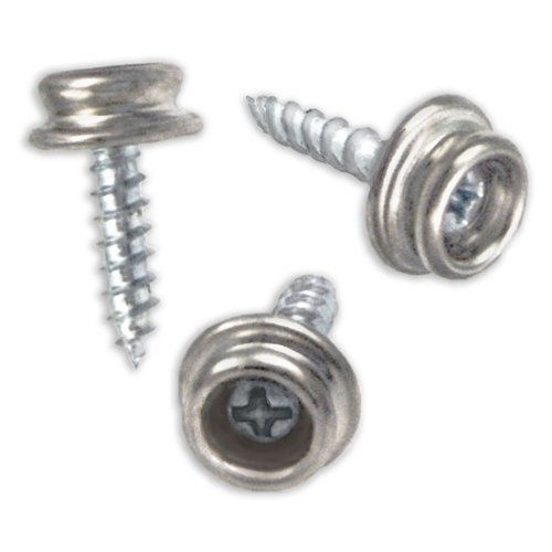 ProTool Set of 25 Snap Button Screw-In Studs