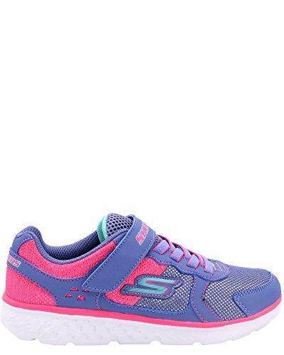 Skechers Kids Girls' Go Run 400-Sparkle Sprinters Sneaker, Blnp, 2 Medium US Little Kid