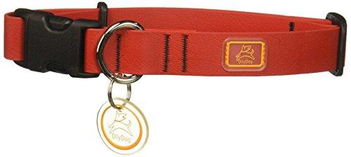 Ollydog Dog Pack - OllyDog 1000-0104-50 Medium Tilden Collar, Red
