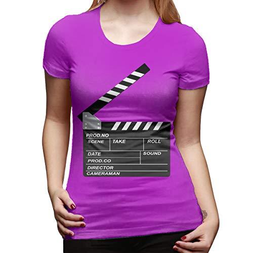 Atwood Louisa Openclipart Women's Short Sleeve T Shirt Color Fuchusia Size 33 - Louisa Three Light