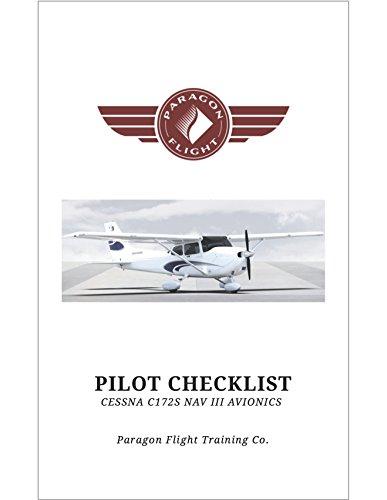 Pilot Checklist, Cessna Skyhawk C172 SP: NAV III Garmin for sale  Delivered anywhere in USA