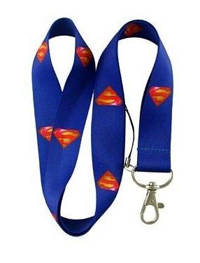 Plasticolor 004424R01 Superman DC Comics Lanyard Keychain