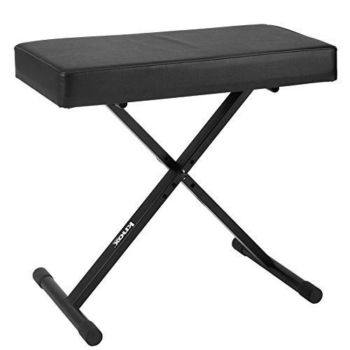 Knox Gear Adjustable X Style Keyboard Bench