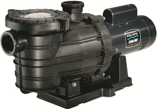 Pentair Sta-Rite MPE6C-204L Dyna-Pro Energy Efficient Single Speed Full Rated Self-Priming Pool and Spa Pump with Easy Off Lid, 1/2 HP, 115/230-Volt by Pentair