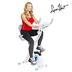 Efficient and enjoyable workouts are easily within your reach with the Body Rider Retro Folding Exercise Bike. With two comfort foam cushions, you have maximum versatility with this foldable bike offering two seat positions: upright stationar...