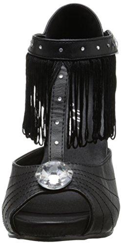 400 Chaussures Femme Robe Sandale Noir jazzy Ellie OgERfUxqwx
