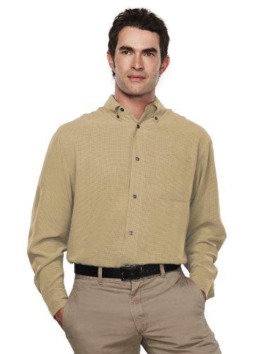 Mini Tartan Shirt - Tri Mountain Wrinkle Free Mini-Plaid Pattern Shirt - 878 Emissary