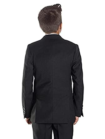 Paisley of London Boys black suit, Boys page boy suits, Boys wedding suits: Amazon.co.uk: Clothing