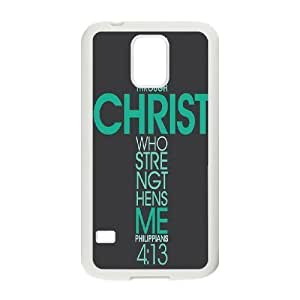 Bible Verse Unique Fashion Printing Phone Case for SamSung Galaxy S5 I9600,personalized cover case ygtg619506