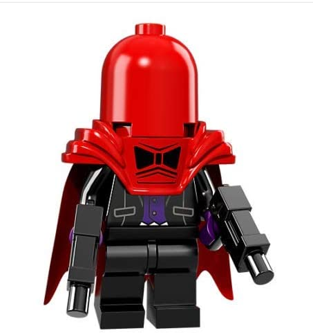 Red Hood Fit Lego Minifigure Toys