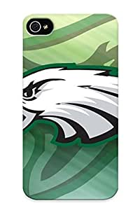 Blackducks Rugged Skin Case For Ipod Touch 5 Cover Eco-friendly Packaging(philadelphia Eagles Nfl Football )