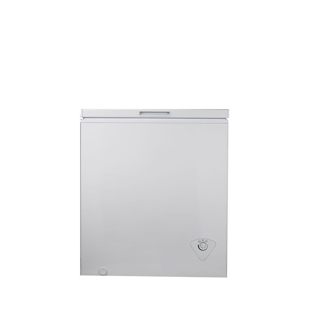 Equator-Media 5 cu. ft. Chest Freezer in White