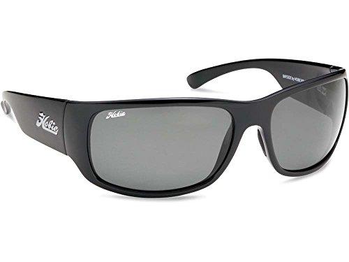 Hobie Bayside Polarized Sunglasses,Shiny Black Frame/Grey Lens,one - Hobie Polarized