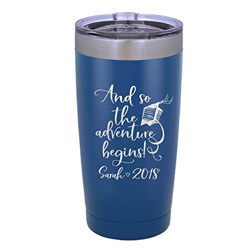 Personalized Graduation Gift Double Wall Tumbler Drinking Th