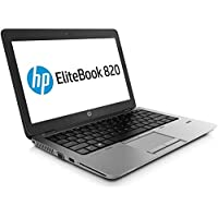 HP EliteBook 820 G2 - PC portátil - 12.5 '' - (Core i5-5200U / 2.20 GHz, 8GB RAM, SSD 128GB SSD, WiFi, Windows 10…