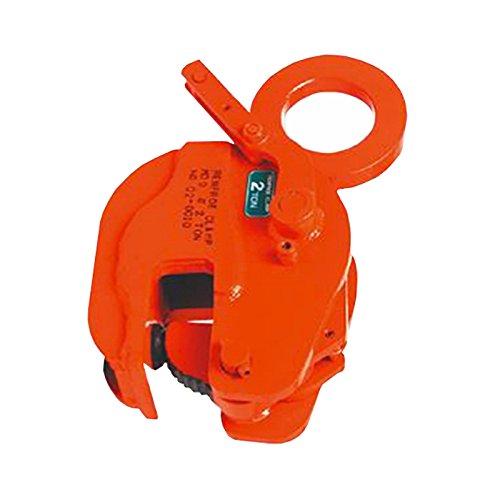 日本クランプ 縦吊り専用クランプ Sタイプ レバー式ロック装置付 遠隔操作ロック解除可能 S03 使用荷重 3t 使用有効寸法 3~40mm コT【代不】 B06VWBJN91