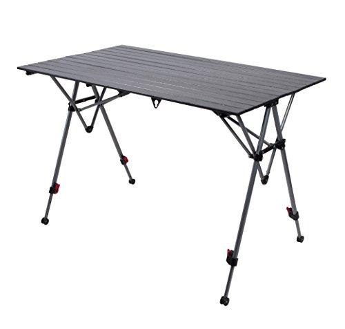 Rolltisch Campingtisch 119x70 höhenverstellbar
