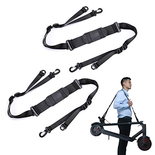 (OwnMy Kick Scooter Shoulder Strap, Adjustable Scooter Carrying Strap for Kids Balance Bike Scooter Folding Chair Yoga Mat)