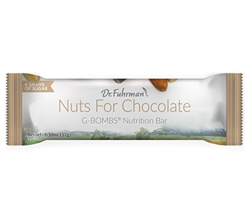 Dr. Fuhrman's Nuts for Chocolate G-Bombs Nutrition Bars