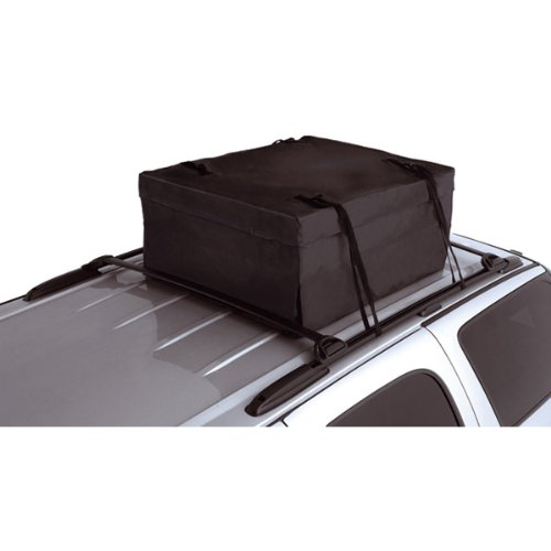 Rugged Ridge 12110.01 Black Auto Backpack Roof Top Storage Bag