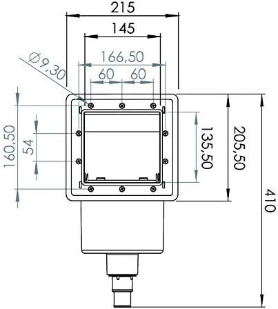 Gre AR100 - Skimmer para Piscina Estándar + Válvula de Impulsión ...