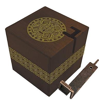 True Genius Aztec Passage Hidden Corridor Puzzle Box: Toys & Games