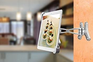 360° Schwenken Wand Küche Tablet Halterung: Amazon.de ...